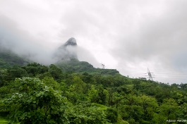 View from 'Havan', thats where we will climb to