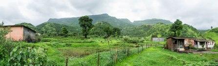 View from Aanandwadi
