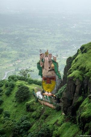 The Ganesha statue