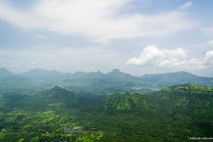 Amazing view from Prabalgad