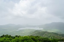 View from Jhambhulmal - Tulsi, Vihar & Powai Lakes