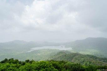 View from Jhambhulmal - Tulsi, Vihar & Powai Lakes