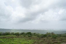 Plateau overlooking the city, between Jhambhulmal and Kanheri Caves