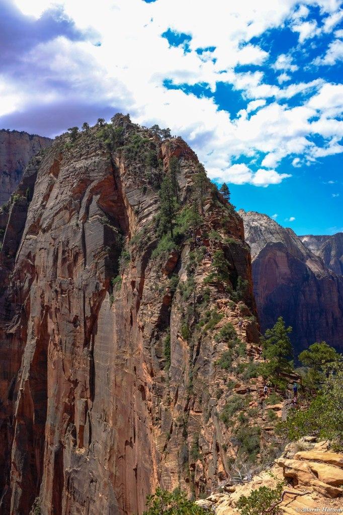 Breathtaking trek, still some way to go