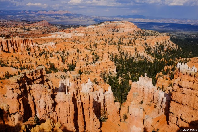 A lookout at Bryce National Park