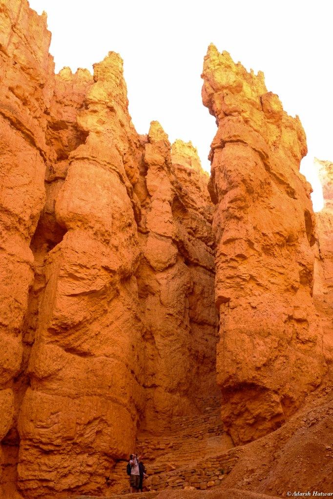 Navajo Trail in Bryce National Park
