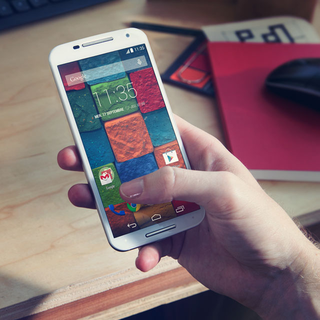 Initial thoughts on the Moto X2014