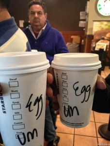Demotion in Starbucks: Adarsh --> Ad --> Ed --> Egg