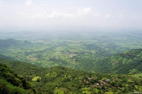 View of Thakurwadi from Prabalmachi