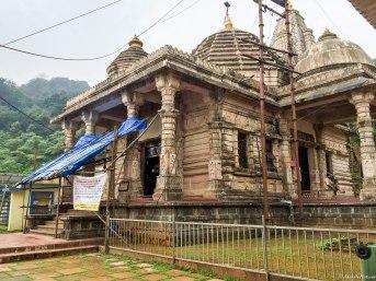 A temple inside the Ashram
