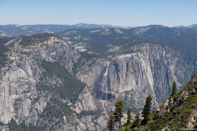 Upper Yosemite Falls from Taft Point